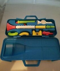 Fisher Price 1984 Crazy Combo Horn Set 604 100 Complete Used Vintage