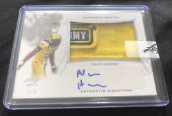 Najee Harris 2017 Leaf Us Army All American Authentic Patch Auto D /5 Autograph