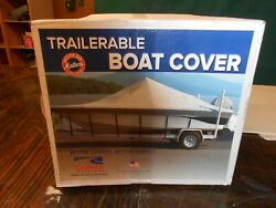 Boat Cover -pioneer 175 Bay Sport Trailerable By Carver Industries