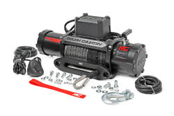 12000lb Pro Series Electric Winch   Synthetic Rope Mm