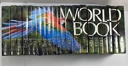 2013 World Book Encyclopedia Spinescape Complete 22 Volume Set Used