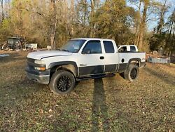 2001 2500hd Silverado Duramax Extended Cab 4x4 Short Bed Rolling Frame