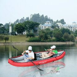 Inflatable Portable 2 Persons 330 Cm Water Sport Kayak Canoe Boat