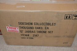 Sideshow 2147 Star Wars 1/6 Scale Jabba The Hutt's Throne Set New In Sealed Box