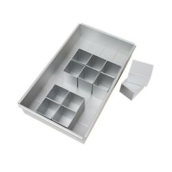 10xdiy Square Non Stick Cake Pan Pie Loaf Toast Bread Mold Bakeware Tray
