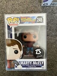 Funko Pop Marty Mcfly Back To The Future Vaulted Very Good Condition