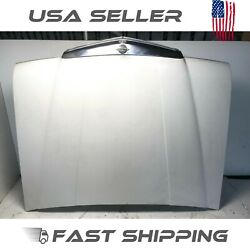 Aq201181 79 1979 Mercedes 300sd Td W116 Hood + Grill Assy Assembly White Oem