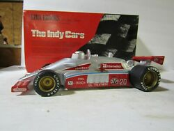 Rare Ezra Brooks 20 Silver Indy 500 Stp Race Car Decanter 17 Of Only 50 Made