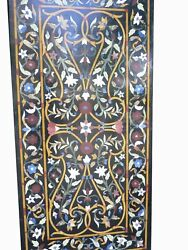60 Marble Dining Table Top Inlay Rare Semi Antique Center Coffee Table Ar0356