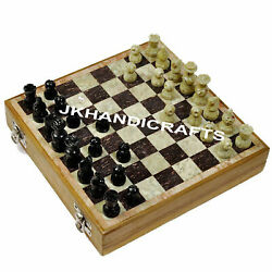 Handmade Marble Chess Set And Pieces And Unique Board Collectibles Chess 8 X 8