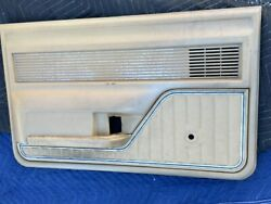 1973-1979 Ford Truck Door Panel White Tan Arm Rest 1978 1975 1976 1977 1974