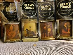 Jim Beam's Choice Collectors Edition Whiskey Bottles 4