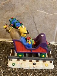 Simpsons Christmas Train All Aboard For The Holidays Marge Grandpa Simpson