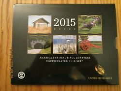 Us Mint 2015 Pandd Atb America The Beautiful Quarters Uncirculated Coin Set Ne2