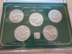 Maui Trade Dollar Limited Collectorand039s Edition 2002 - 2006 Five 5 Coins