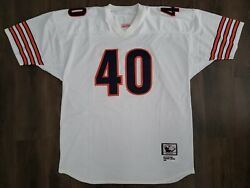 Mitchell And Ness Chicago Bears Gale Sayers 1965 Rookie Throwback 🏈 Jersey Sz 54