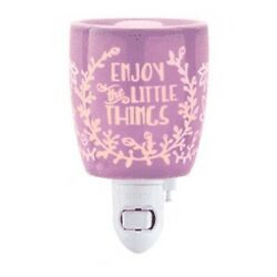 Scentsy Plug In Warmer Enjoy The Little Things Retired