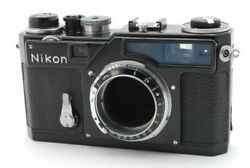 Nikon Sp Limited Black Paint Film Camera Body Maintained Tested Working Rare