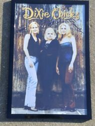 Dixie Chicks Wide Open Spaces Signed + Framed 11x17 Poster