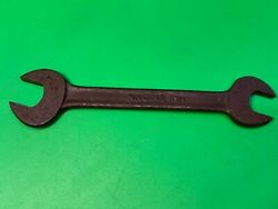 """Vintage Spanner,classic Car Open Ended Tool,garrington 5/16""""w,3/8""""w,magpie S14"""