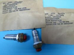 2 New Red Alert Panel Lights Unusual Surplus Late 1950andrsquos Military Aircraft