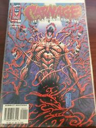 Spiderman Comic Lot Carnage It's A Wonderful Life Vf+ Bagged Boarded