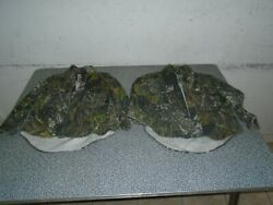 2 Mossy Oak Camo Size Youth Small Hunting Shirts Long Sleeve Cotton Flannel