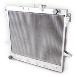2 Row Core Aluminum Radiator For 2006-2010 Hummer H3 /09-10 H3t/ Chevy Colorado