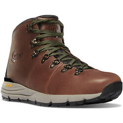 Danner Menand039s Mountain 600 4.5 Waterproof Hiking Boots Walnut/green Select Size