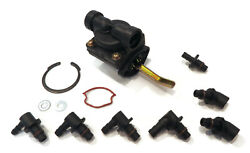Fuel Pump With Inlet Outlet Fittings For Kohler Toro 18 Hp 13.4 Kw Mv18-58543