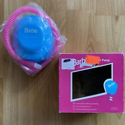 Vintage 1990s Barbie Inflatable Furniture 5andrdquo Air Pump - Inflate/deflate Attach