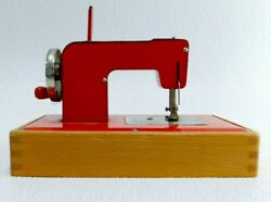 Vintage Kay An Ee Sew Master Childs Red Sewing Machine
