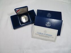 1993 Bill Of Rights James Madison Silver 90 Pure Proof Commemorative 1 Coin