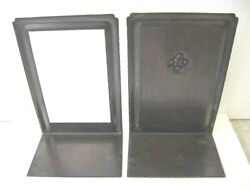 Roycroft Hammered Copper Bookends Arts And Crafts Framed And Panel