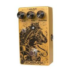 Used Walrus Audio Iron Horse Lm308 Distortion V2 Guitar Effects Pedal