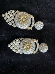 Oxodized Earrings Very Good Silver Design High Quality Earrings