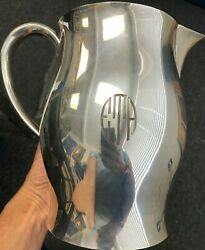 P. Revere Sterling 170 Sterling Silver 7 1/4 Pitcher 688.8g Has Mono