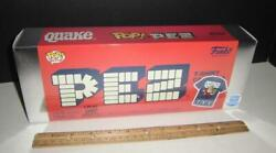 Quake Funko Pop Pez And Large T Shirt Sealed Box - Limited Shop Cereal Mascot