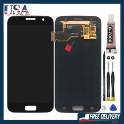 For Samsung Galaxy S7 G930 Lcd Display Touch Screen Digitizer Replacement Black