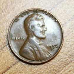 1952-d Lincoln Wheat Penny
