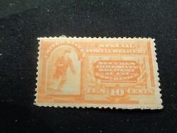 1983 Scotts E3 Unused Hinged Special Delivery 10 Cent Stamp