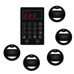 Singcall Wireless Calling Kitchen System To Call Waiter To Pick Dish 5 Watches