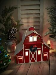 SCENTSY Full Size Warmer COUNTRY CHRISTMAS New In Box Holiday FARMHOUSE New