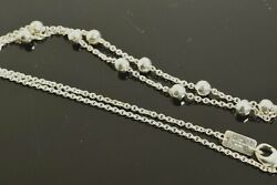 Ippolita Hammered Pinball Necklace In Sterling Silver 18