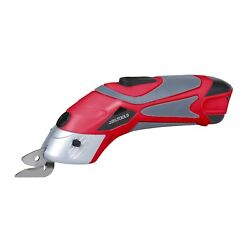 Great Working Tools Cordless Power Electric Scissors For Crafting Cardboard Red