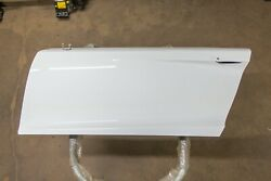 Audi R8 Driver Left Door With Glass Ibis White 2008-2012