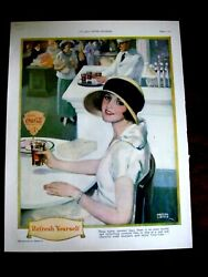 Vintage 1924 Ladies Home Journal Coca Cola And Lux Products Magazine Print Ad