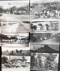 Ten Vintage 1900-1904 Photographs Of The Philippines