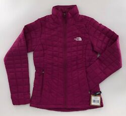 The Women's Thermoball Eco Jacket Dramatic Plum Nwt Free Shipping