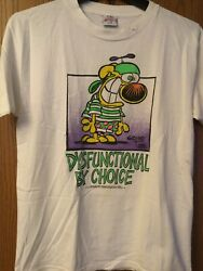 Mother Goose And Grimm - Grimmy 1992 Comic Strip. White Shirt. Xl Mark On Neck